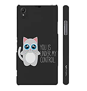 Sony Xperia Z1 Under My Control designer mobile hard shell case by Enthopia