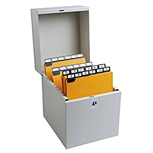 Exacompta Vertical Filing Box - Assorted