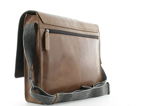 Strellson Epping Messenger Lhf Businesstasche Cognac Brown_cognac, Braun