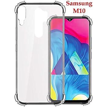 Jkobi Rubber Back Cover for Samsung Galaxy M10 - Transparent
