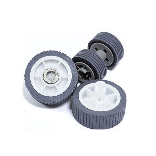 yanzeo® Scanner Pick Roller Set für Fujitsu ScanSnap iX500, IX500DELUXE Teile ohne: PA03656-0001PA03656-0002