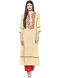 [Sponsored]Jaipur Kurti Women's Cotton Kurti