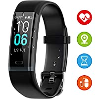 HUOU Smart Activity Bracelet, waterproof IP68,11 Multi-sport modes, Smart sports watch for Women and Men, IOS and Android compatibility