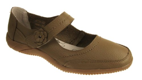 Dr Lightfoot ,  Damen T-Bar Beige