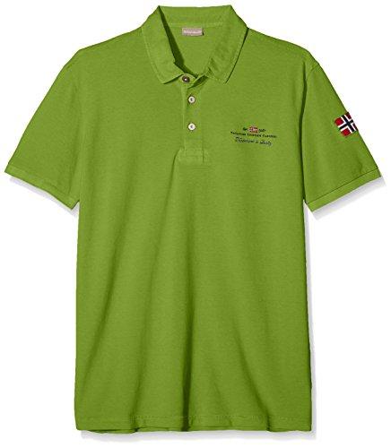 Napapijri Herren Poloshirt ELBAS New Grün (Piquant Green Gb3)