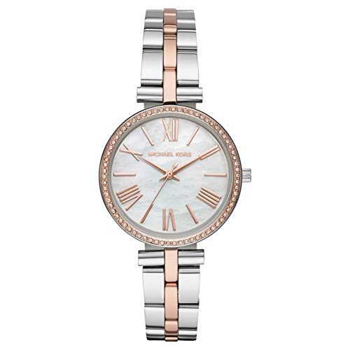 Michael Kors Maci Two-Toned Rose-Gold and SIlver Stainless Steel Ladies Watch MK3969