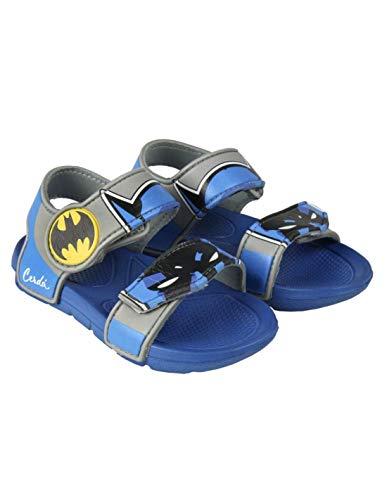 Batman--, Jungen Sandalen, Blau - blau/grau - Größe: 24/25 EU