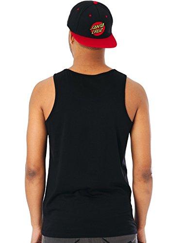 Santa Cruz Dagger Dot Vest Black