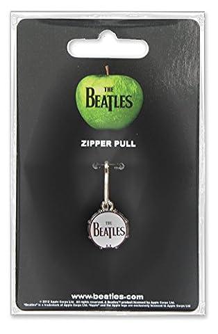 The Beatles Drum Zipper Pull