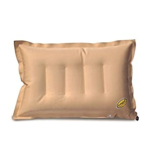 Duckback Synthetic Travel Pillow (Brown_AI_01)