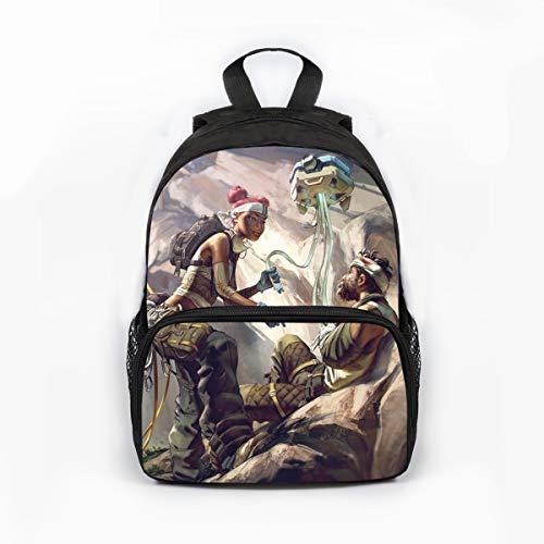 cksack Polyester Print Charakter Cool Fashion Bag Boy Girl Rucksack ()