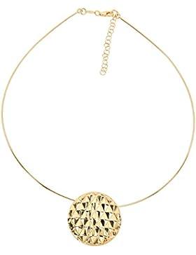 Aleksander Sternen La Barca Damen Halskette Anhänger Omegareif Sterling-Silber 925 vergoldet