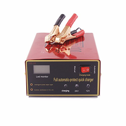 ETbotu 12V/24V 140W veicolo auto carica batterie moto caricabatteria batteria al piombo acido caricabatterie univers