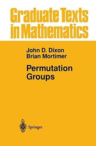 Permutation Groups (Graduate Texts in Mathematics) by John D. Dixon (30-Sep-2012) Paperback
