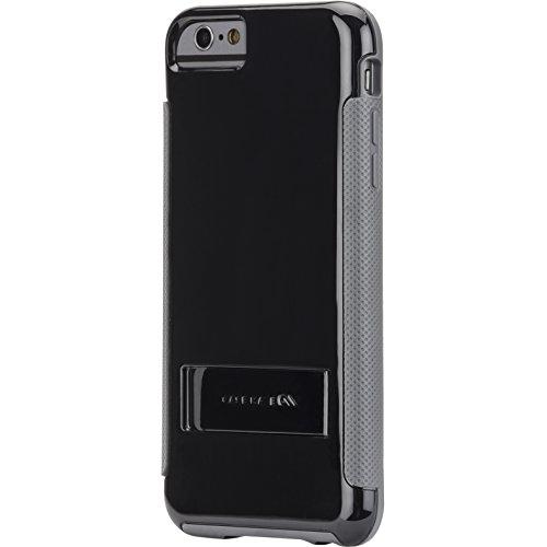 Case-Mate POP Schutzhülle mit Stand für Apple iPhone 6 Plus 13,9 cm (5,5 Zoll) schwarz/grau Case-mate Pop Case