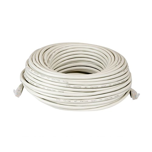 GW Security GWCAT60 Ethernet-Kabel, 18M (60 Feet), weiß, Stück: 1 (Kabel Desktop Security)