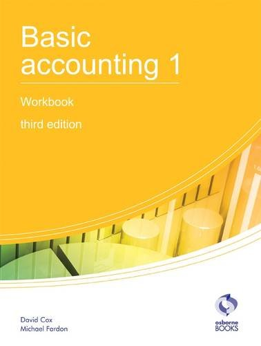 Basic Accounting 1 Workbook (AAT Accounting - Level, used for sale  Delivered anywhere in UK
