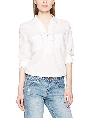 Marc O'Polo Damen Bluse Weiß (White 100)