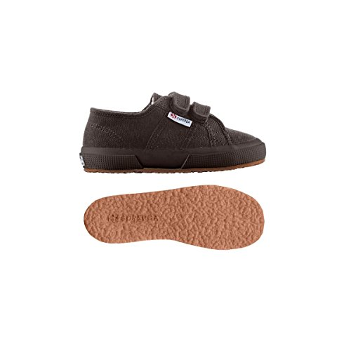 Superga 2750 Cobinvj, Unisex-Kinder Sneakers Full Dk Coffee