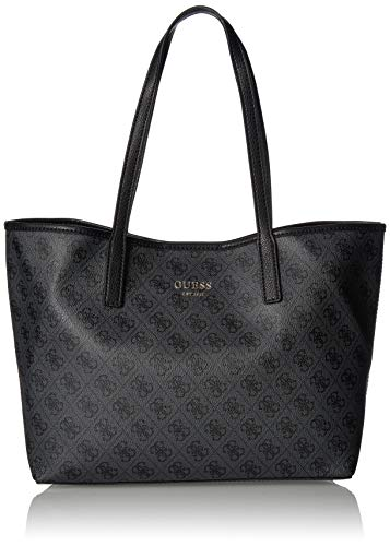 Guess Damen Vikky Tote, Schwarz (Coal/Coa), 32.5x27x15 Centimeters Chili Peppers-designer