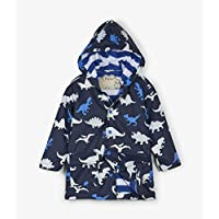 Hatley Boys Blue Dino Herd Dinosaurs Colour Changing Raincoat