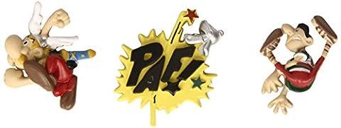 Plastoy - 70023 - Figurine - Set de 3 Mini Magnets - Asterix New