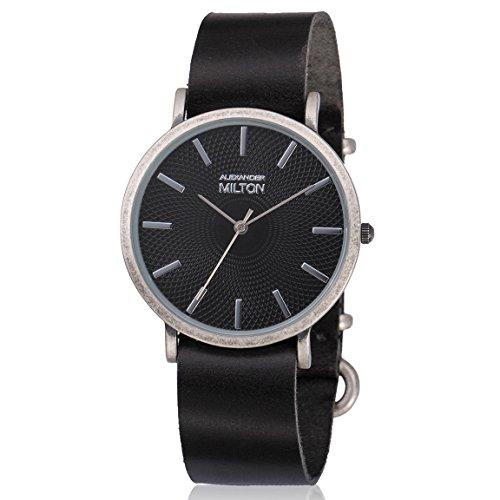 ALEXANDER MILTON - montre homme - CONSUS, noir