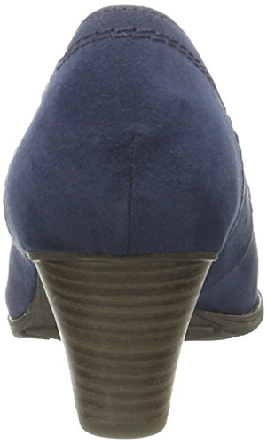 Softline22465 - Scarpe con Tacco Donna Blu (Navy 805)