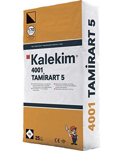 """""""TamirArt 5"""" vergüteter Ausgleichs- und Reparaturspachtel Betonspachtel auf Zementbasis 25 kg"""