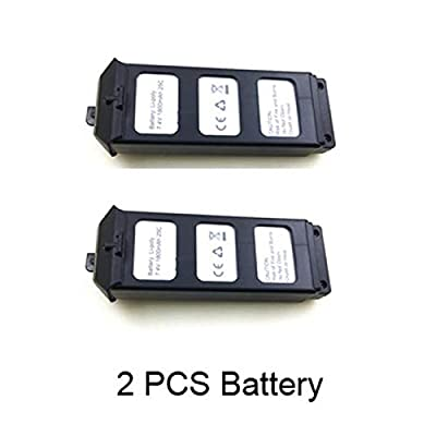 Studyset 7.4V 1800Mah Li-po Battery for MJX B5W Bugs 5W / JJPRO X5 RC Quadcopter Drone Spare Parts Accessories MJX B5W Battery B5W012