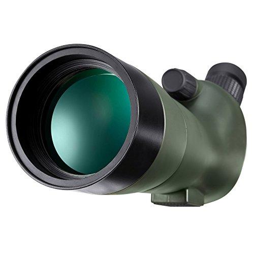 BNISE Spektiv Vogelbeobachtung - Spotting Scope Telescope - Nebenher mit dem Dreifuß der Unterstützung, Photographie-Klammer des Handys adapter - Photographie-Klammer der Kamera-Truppeneinheit