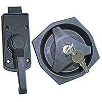 Pertemba Global Kit de cerrojo zurdo para interior y exterior