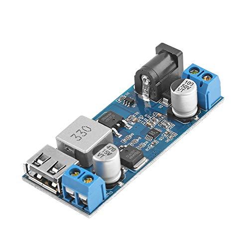 Broadroot DC-DC 24V 12V zu 5V 5A Spannungsversorgung Step Down Buck Converter Abwärtswandler Einstellbarer USB-Lademodul (Converter Android Iphone Zu)