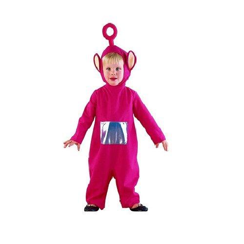 Costume bambino teletubbies po taglie varie (5-7)
