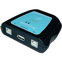 Cablematic - Conmutador USB manual de 2 ordenadores a 1 puerto USB