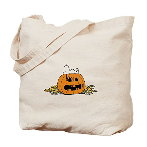 CafePress Pumpkin Patch Lounger Tragetasche, canvas, khaki, M