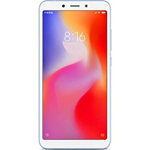 "Xiaomi Redmi 6A - Smartphone 5.45"" (Quad-Core 2.0 GHz, RAM 2 GB, memory 32 GB, GBmera of 13 MP, Android 8.1) color blue [Spanish version]"