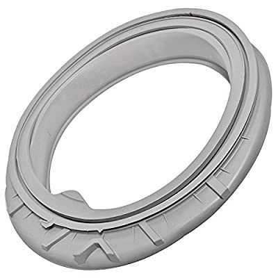 SPARES2GO Door Glass Seal for Hotpoint Aqualtis Washing Machines from SPARES2GO
