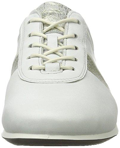 Ecco Damen Touch Sneaker Sneakers Weiß (50536WHITE/GRAVEL/WHITE)