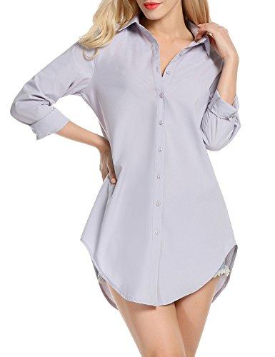womens-button-shirt-long-sleeve-dress-turn-down-collar-hem-blouse-new-tops-2017-xl-w