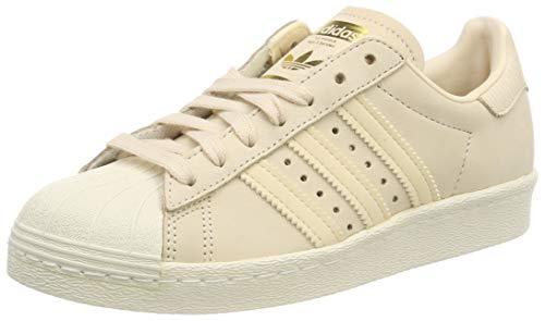 adidas Damen Superstar 80s Gymnastikschuhe, Pink Linen/Off White, 38 2/3 EU