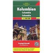 Freytag Berndt Autokarten, Kolumbien - Maßstab 1:1 000 000 (freytag & berndt Auto + Freizeitkarten)