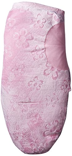 Summer Infant Lux SwaddleMe - Pink (Small) Rosa Pucksack Velboa *weich*