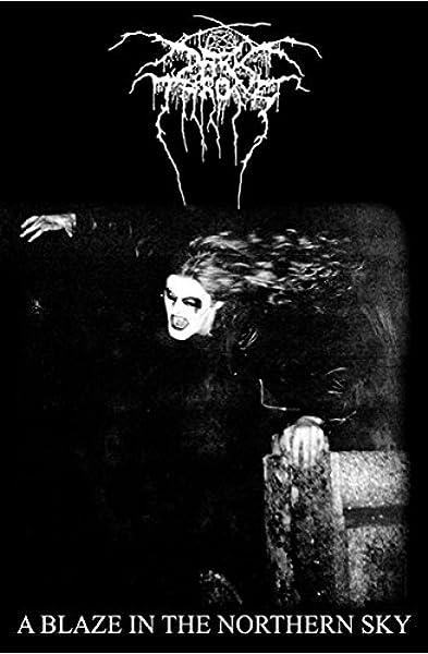 Darkthrone A Blaze In The Northern Sky Flagge Flag By Darkthrone Amazon Co Uk Music