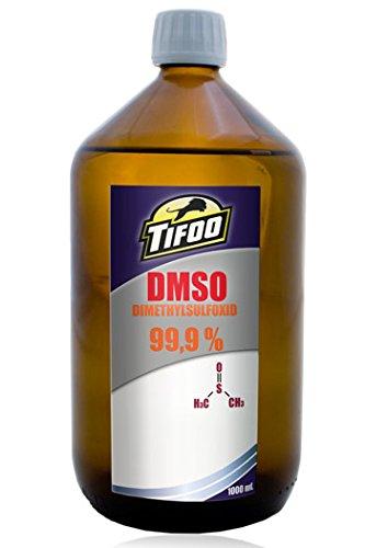 Preisvergleich Produktbild DMSO / Dimethylsulfoxid (1000 ml, 99,9 % Reinheit) - Lösungsmittel, Schlepper
