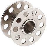 Tinksky 10 Piezas Bobinas de Metal para Máquina de Coser Doméstico (Plata)