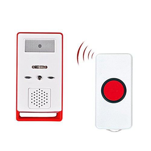 Wireless Pager, Betuy Smart Betreuer drahtlos Betreuer Personal Pager System Emergency Care Alarm Anruf-Taste Krankenschwester Alarmsystem für Krankenschwestern Behinderte Schwangere Patienten