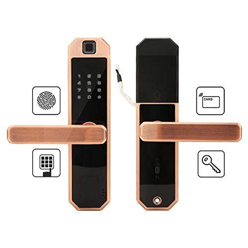 BUDBYU Intelligentes Türschloss, intelligentes Keyless-Passwort-Sicherheitssystem mit Touchscreen für das Home Office