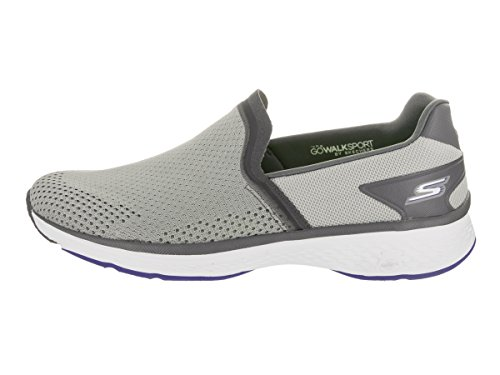Skechers Go Walk Energy Hommes Toile Baskets gray