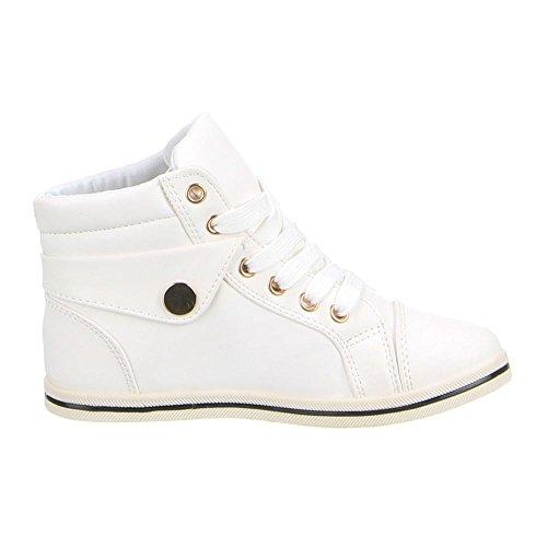 Kinder Schuhe, Q-21, FREIZEITSCHUHE Weiß